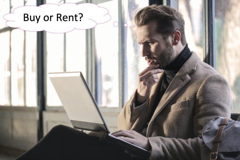 Buy versus Rent a laser Printer