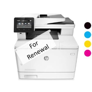 M477dn Printer Rental Renewal Credit